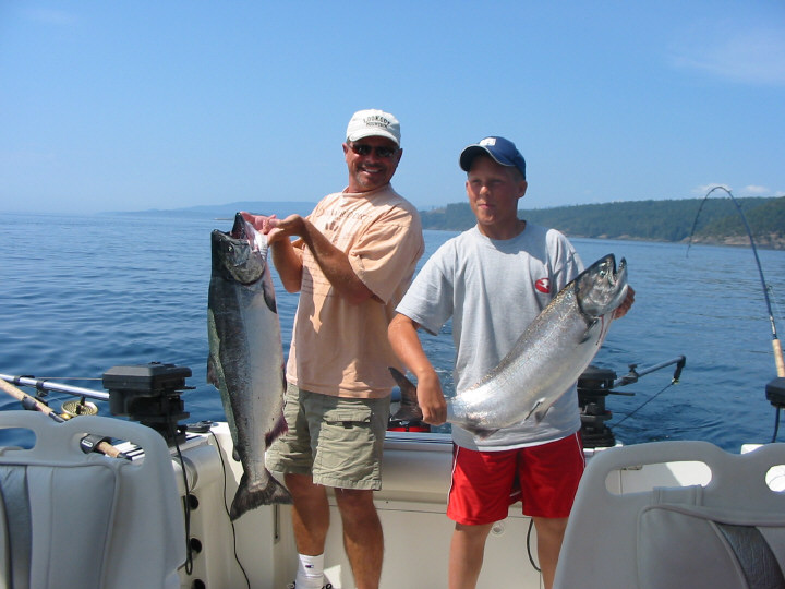 Island fishing charters from victoria bc 39 s inner harbour for Fishing vancouver island